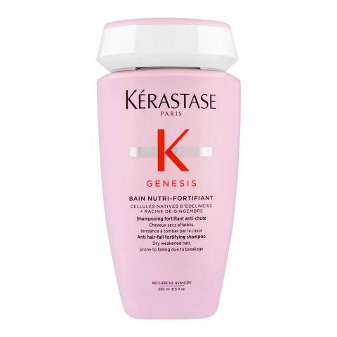 Kerastase Genesis Bain Nutri-Fortifaint Shampoo, For Weakened Hair, 250ml
