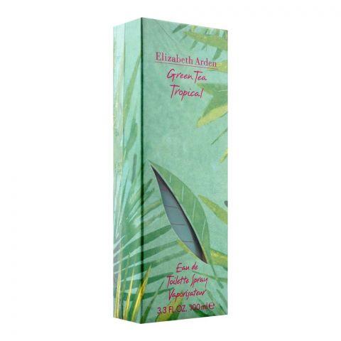 Elizabeth Arden Green Tea Tropical Eau De Toilette, Fragrance For Women, 100ml