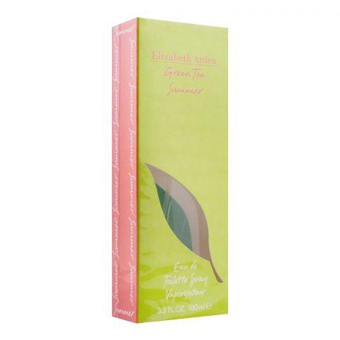 Elizabeth Arden Green Tea Summer Eau De Toilette, Fragrance For Women, 100ml