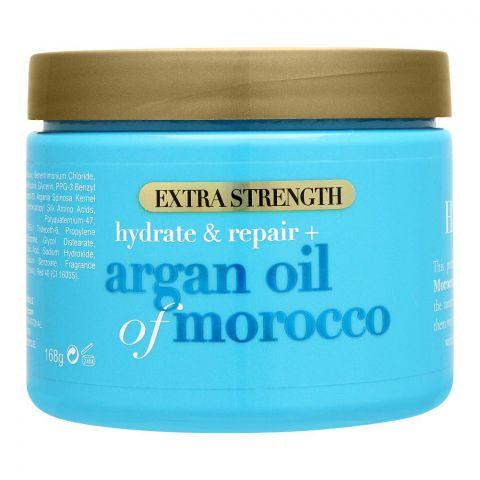 OGX Hydrate & Repair + Argan Oil Of Morocco Hair Mask, Extra Strength, 168g
