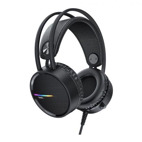 Hoco W100 Touring Gaming Headphones, Black