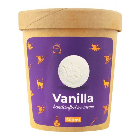 The Waffle Witch Vanilla Handcrafted Ice Cream, 500ml