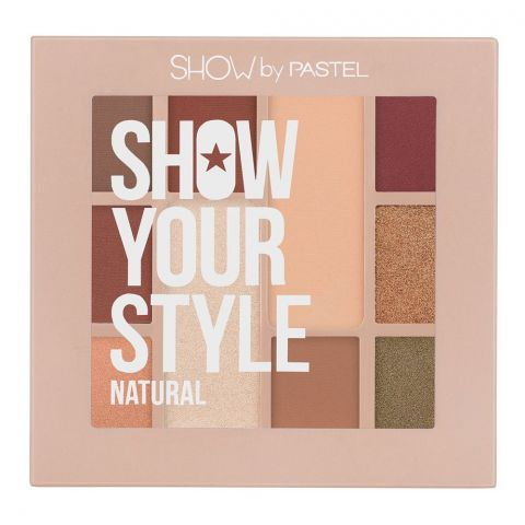 Pastel Show By Pastel Show Your Style Eyeshadow, Set Natural