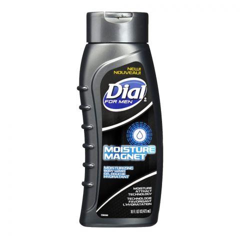 Dial For Men Moisture Magnet Moisturizing Body Wash, 473ml