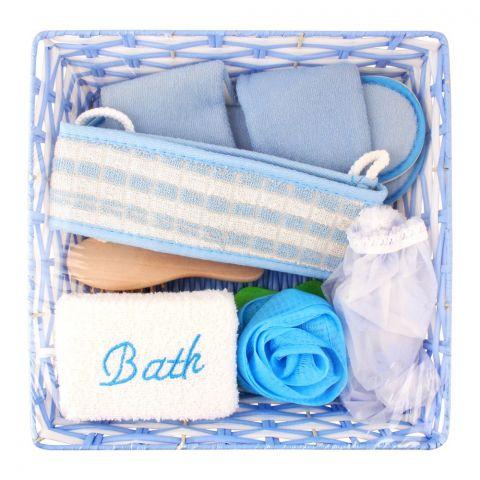 Bath Set, A-54, Blue