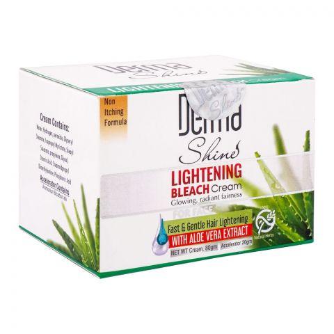 Derma Shine Fast & Gentle Hair Lightening Bleach Cream, 80g