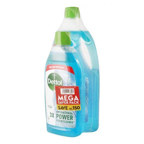 Dettol Multi-Purpose Aqua Cleaner, Mega Saver Pack, 1000ml