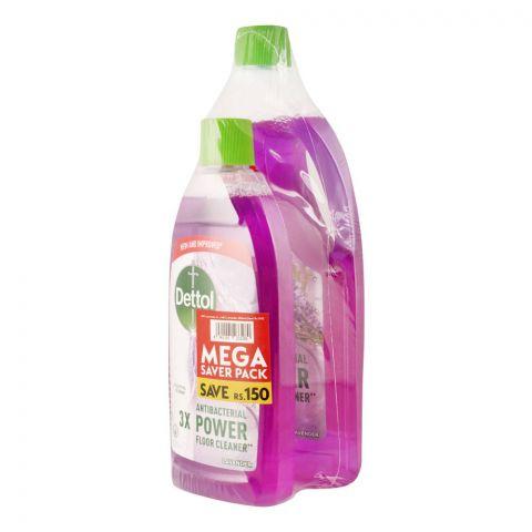 Dettol Multi-Purpose Lavender Cleaner, Mega Saver Pack, 1000ml