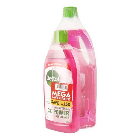Dettol Multi-Purpose Rose Cleaner, Mega Saver Pack, 1000ml