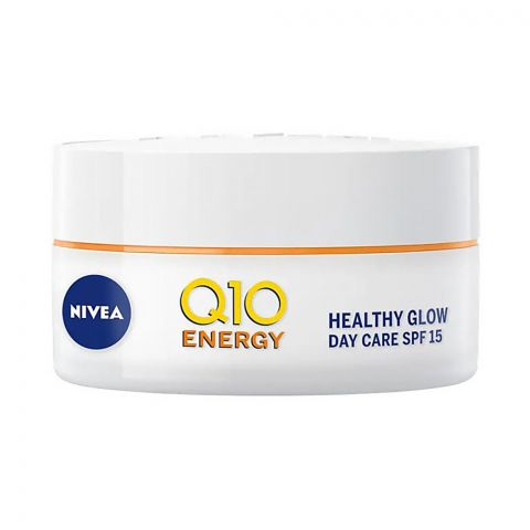 Nivea Q10 Energy Healthy Glow Day Cream, SPF 15, 50ml