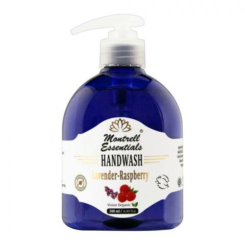 Montrell Essentials Lavender Raspberry Hand Wash, 500ml