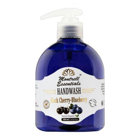Montrell Essentials Black Cherry Blueberry Hand Wash, 500ml