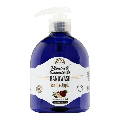Montrell Essentials Vanilla Apple Hand Wash, 500ml