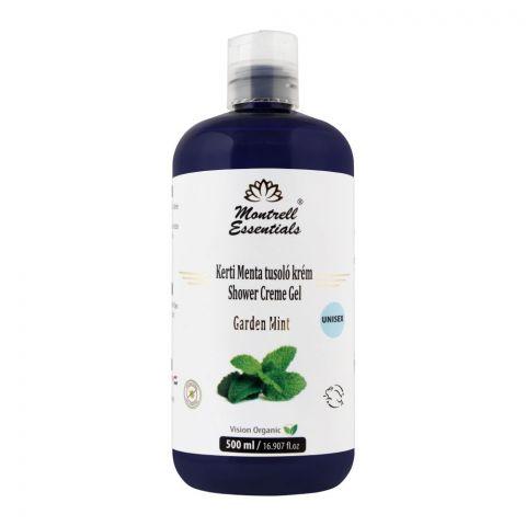 Montrell Essentials Garden Mint Unisex Shower Creme Gel, 500ml