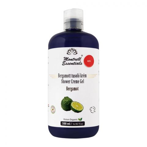 Montrell Essentials Bergamot His Shower Creme Gel, 500ml
