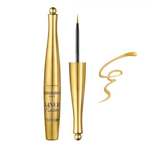 Bourjois Liner Pinceau 24H Waterproof Liquid Eyeliner, 007 Or Deco