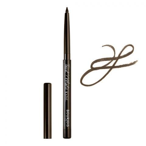 Bourjois Twist Matic Kohl Kajal Eye Pencil, 02 Brown Woud