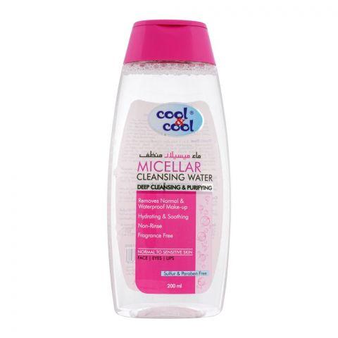 Cool & Cool Micellar Cleansing Water, 200ml