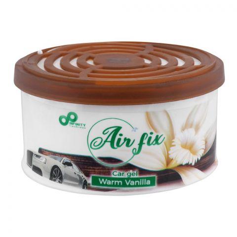 Air Fix Warm Vanilla Car Gel Air Freshener, 80g