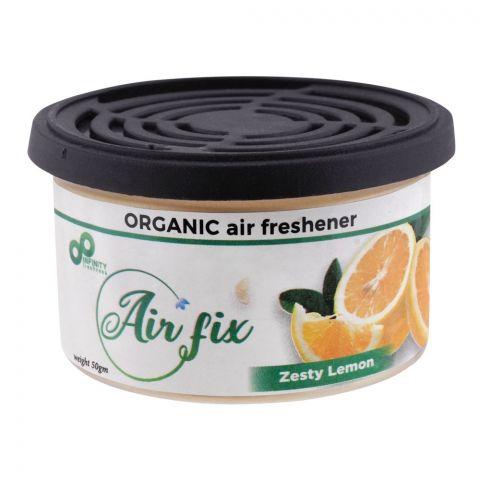 Air Fix Zesty Lemon Organic Air Freshener, 50g