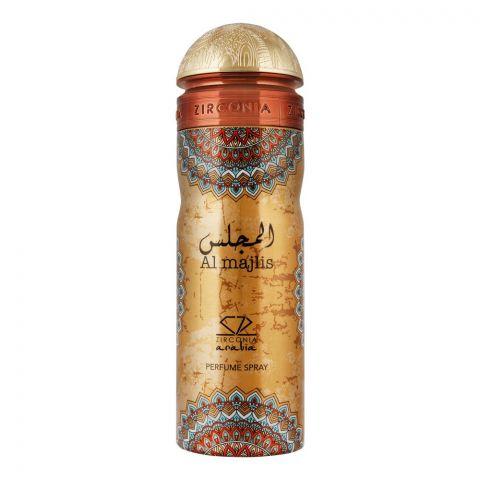 Zirconia Al Majlis Perfume Body Spray, 200ml