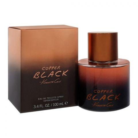 Kenneth Cole Copper Black Eau Ce Toilette, Fragrance For Men, 100ml