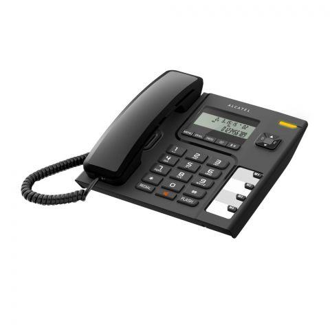 Alcatel Corded Landline Telephone, Black, T56 EX
