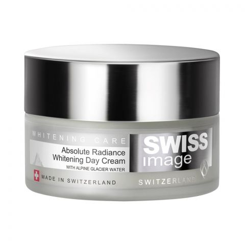 Swiss Image Whitening Care Absolute Radiance Whitening Day Cream, All Skin Types, 50ml