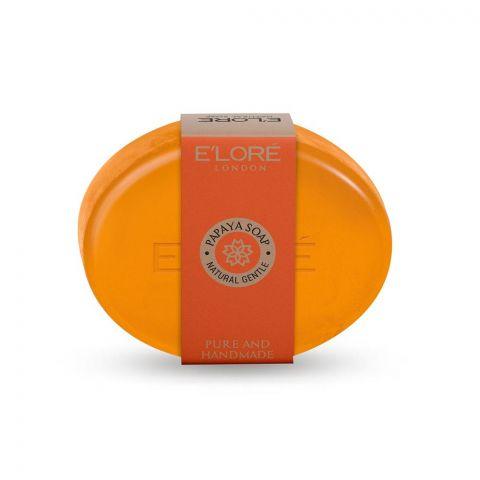 E'Lore Papaya Pure Natural Soap, 100g