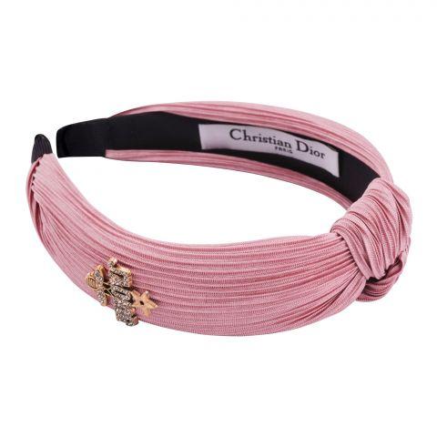 Dior Style Hair Band, Pink, AB-05