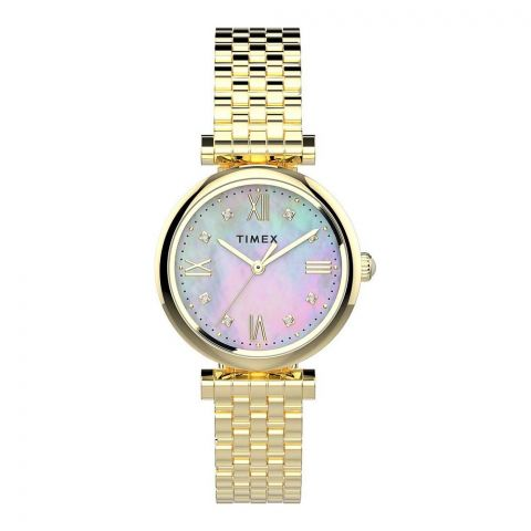 Timex Women's Mother of Pearl Dial Women's Watch, TW2T78900