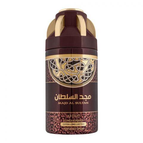Asdaaf Majd Al Sultan Extra Long Lasting Perfumed Body Spray, 200ml