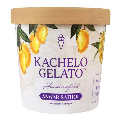 Kachelo's Handcrafted Gelato, Anwar Retol, 450g