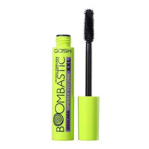 Gosh Boombastic Argan Oil XXL Swirl Volume Mascara, 001 Black