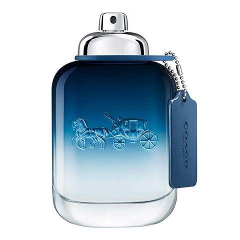 Coach New York Blue Eau De Toilette, Fragrance For Men, 100ml