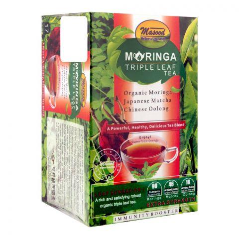 Masood Moringa Triple Leaf Tea, 17 Tea Bags