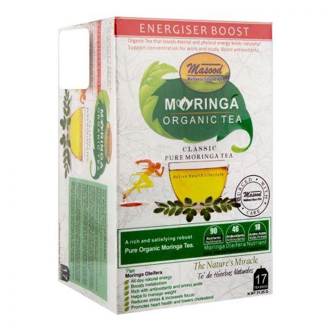Masood Moringa Organic Tea, 17 Tea Bags