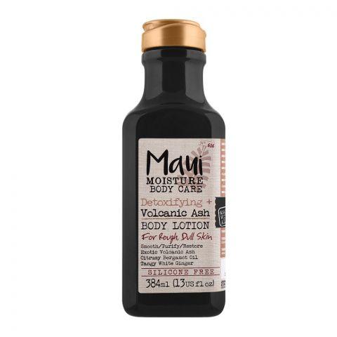 Maui Moisture Body Care Detoxifying + Volcanic Ash Body Lotion, For Rough & Dull Skin, 384ml