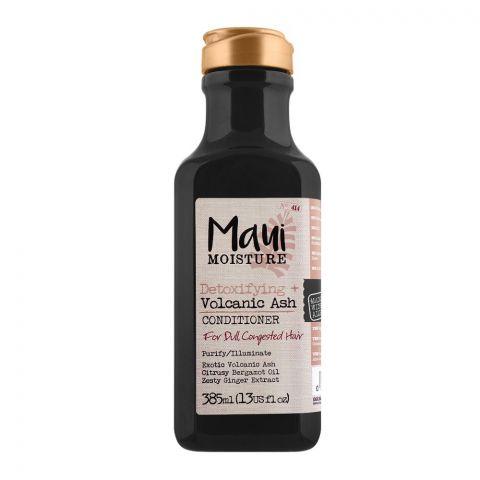 Maui Moisture Detoxifying + Volcanic Ash Conditioner, For Dull Hair, 385ml