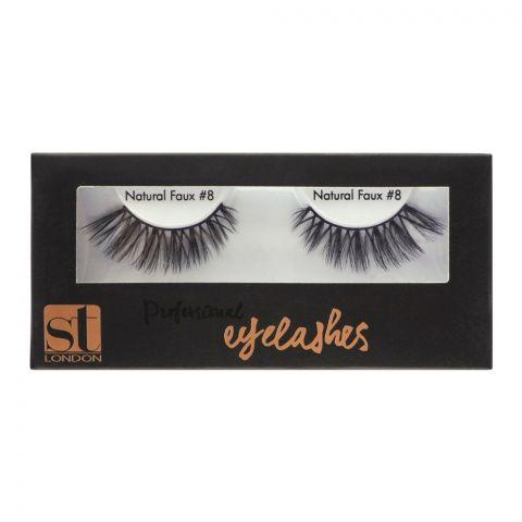 ST London Professional Eyelashes, 08 Natural Faux