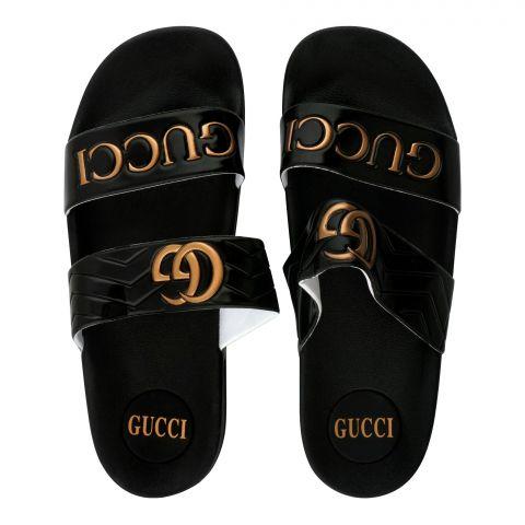 Women's Slippers, R-2, Black