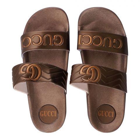 Women's Slippers, R-2, Brown