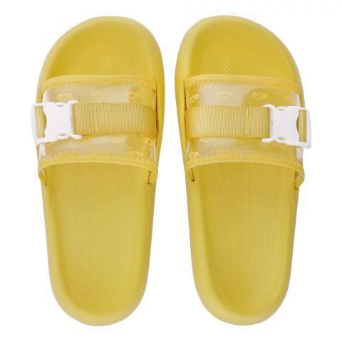 Women's Slippers, R-4, Yellow