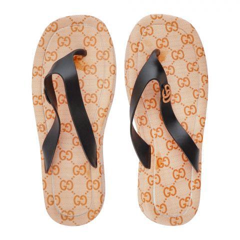 Women's Slippers, R-8, Golden
