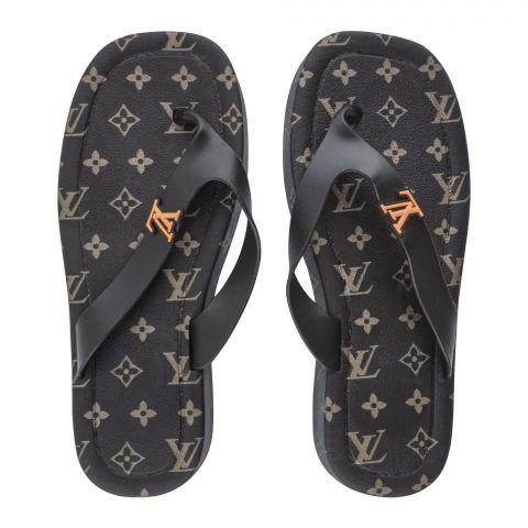 Women's Slippers, R-10, Black