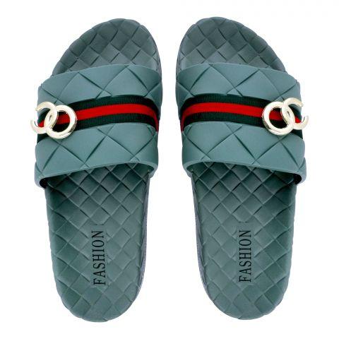 Women's Slippers, R-12, Green