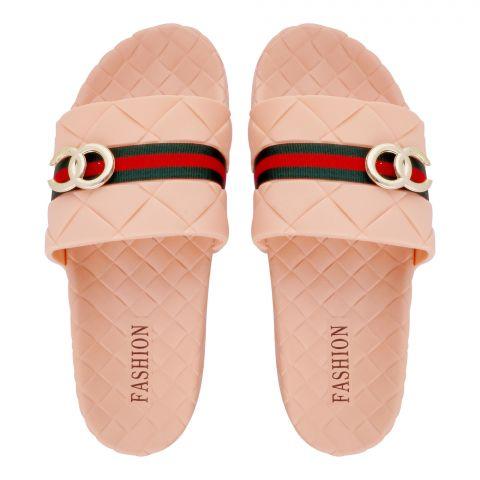 Women's Slippers, R-12, Peach