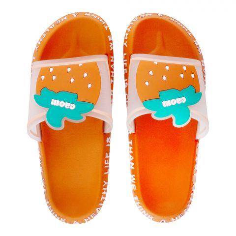 Women's Slippers, R-15, Orange