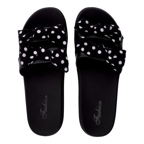 Women's Slippers, R-16, Black