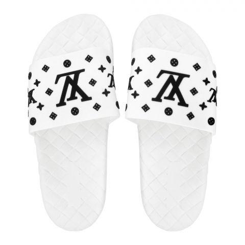 Women's Slippers, R-17, White